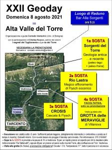 XXII Geoday - Alta Val Torre